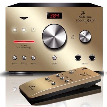 Antelope Audio Zodiac Gold & Voltikus PSU | Ex-demo | Audio Emotion