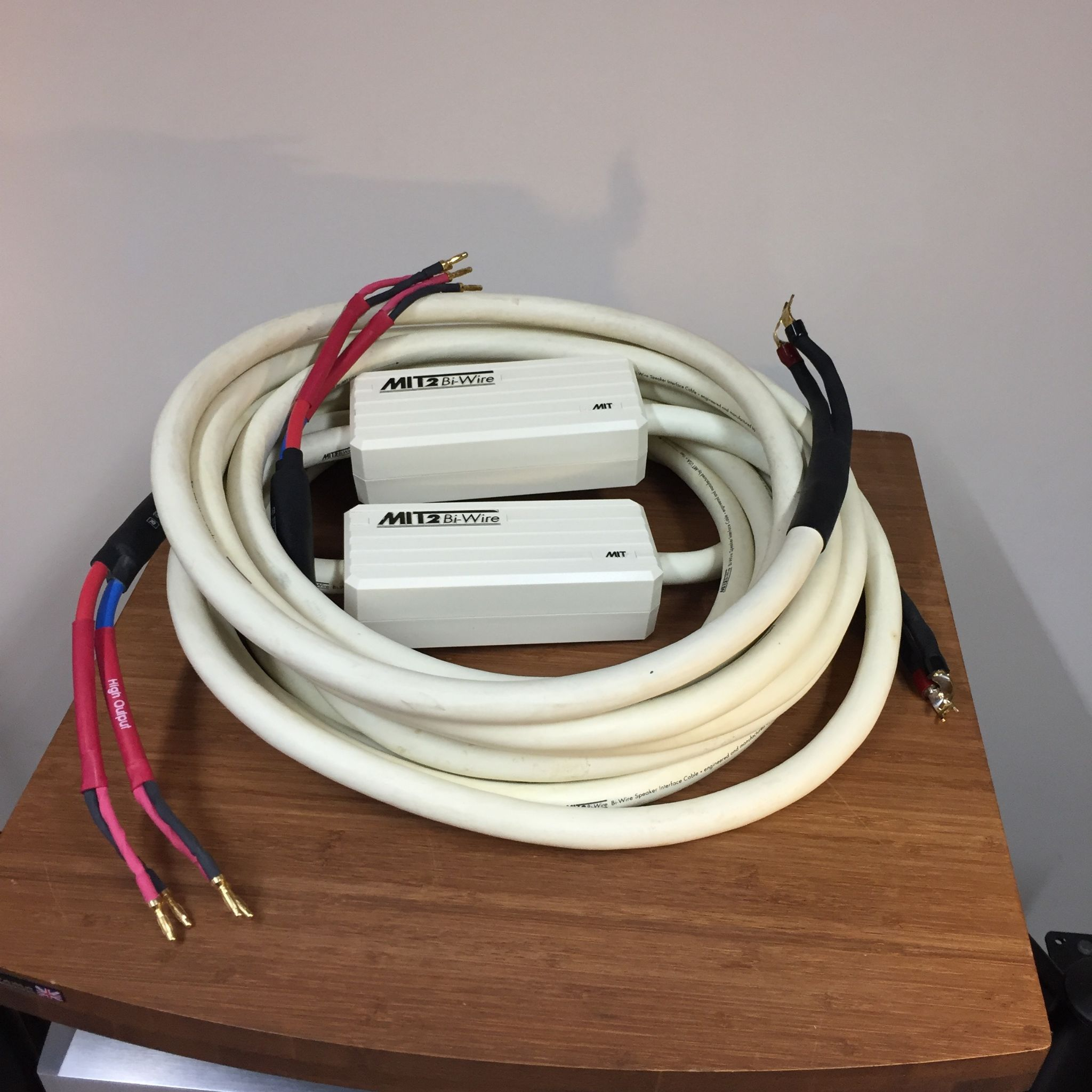 Mit2 Bi Wire Speaker Interface Cable 6m Pre Owned Audio Wiring Emotion