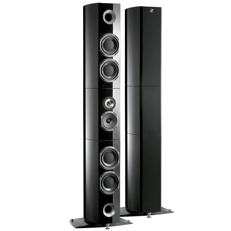 concert speakers system. triangle magellan grand concert loudspeakers speakers system u